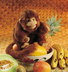 folkmanis monkey hand puppet bananas-this nimble-