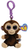 beanie boos coconut-clip monkey measuring approximately