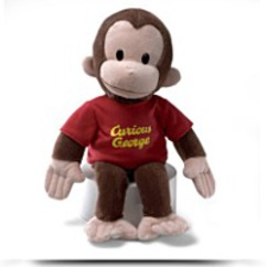 16 Curious George Plush Figure