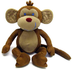 jungle babies milton monkey stuffed animal