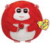 beanie ballz love monkey rose plush