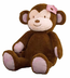 jacana plush monkey please allow days