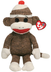 beanie buddies socks monkey brown what's