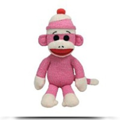 Beanie Buddies Socks The Monkey
