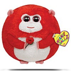 In Love Monkey With Rose Plush