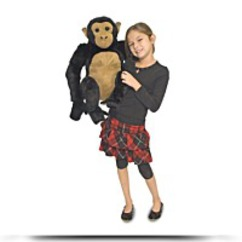 Melissa And Doug Chimpanzee Plush