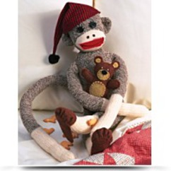 Peejay The Sock Monkey