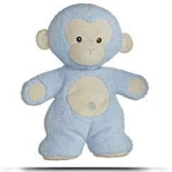 Plush 10 Fleecy Friends Blue Monkey