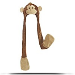 World Mitts N Hats 35 Cheeky The Monkey