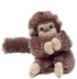 purr-fection clyde brown spider monkey plush