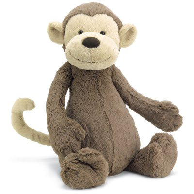 Jellycat Bashful Monkey 12
