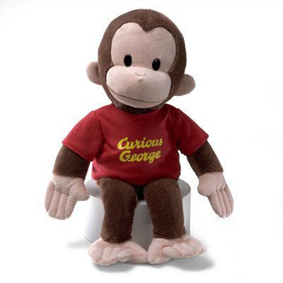 Gund 16 Curious George Plush Figure