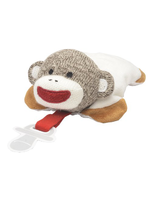 Sock Monkey Pacifer Holder